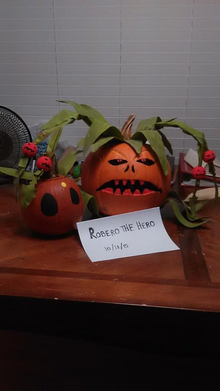 Robero the Hero-great pumpkin king and great pumpkin pet.jpg