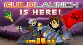 AQWorlds Guild Launch
