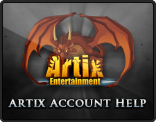 Artix Account Help Link